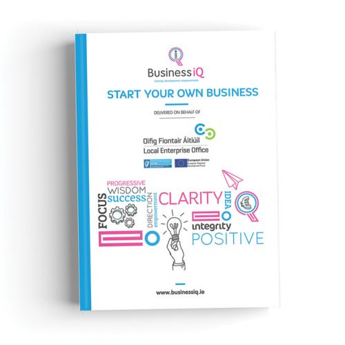 start your own business manual business iq programme cork ireland